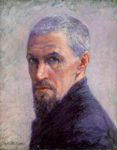 Густав Кайботт. Автопортрет. 1892