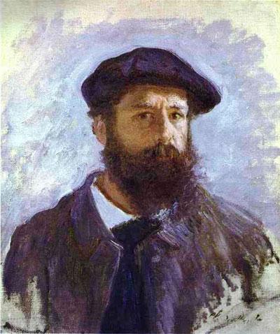 Клод Моне. Автопортрет. 1886