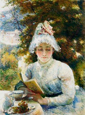Мари Бракемон. Полуденное чаепитие. 1880