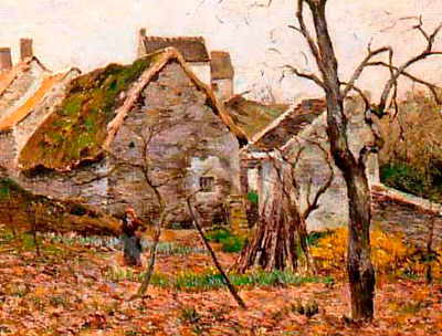 Виктор Виньон. Сельский сад