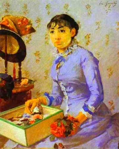 Ева Гонсалес. Модистка. 1877
